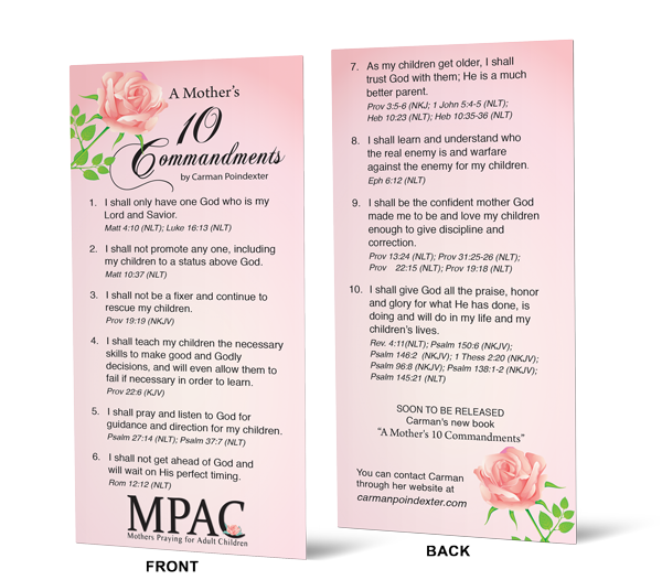 A Mother's 10 Commandments
